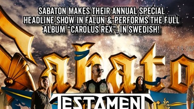Masterplan confirmed today. Full line up presented with schedule and all at rockstadfalun.se #sabatonopenair #rockstadfalun