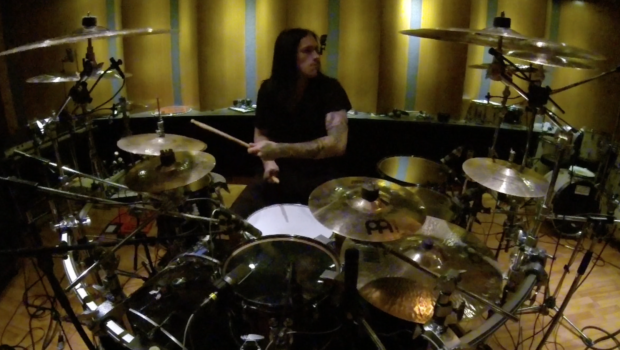Sabaton – For Whom the Bell Tolls – Drum recording session