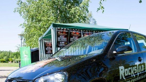 Hard Rock Car back in 2009 @bilmetro @matsbjorklund