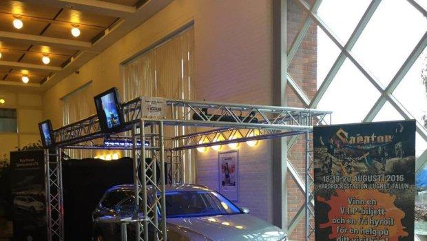 I dag leker vi företagsmässa tillsammans med våra partners @bilmetro & VW