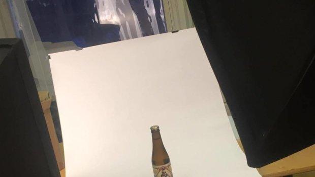I dag tar vi kort på en öl. Inte varje dag det händer. Faktiskt