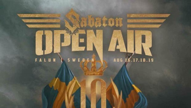 Follow @sabatonopenair for festival related stuff.