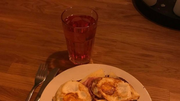 Med respekt lagade jag min middag själv i dag.