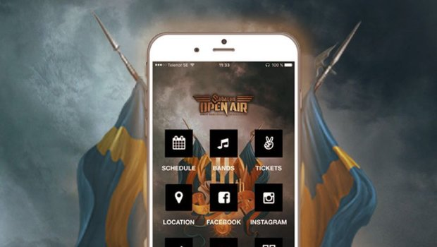 Download the free festival app today. It's only 2 weeks left.. and you will have good use for it