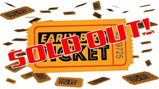 """*** EARLY BIRD TICKETS for Sabaton Open Air 2018 is now SOLD OUT! *** Thanks for the great support and trust friends! All the discounted EARLY BIRD tickets are now sold out, and also the VIP-tickets have been reduced to """"Few left"""" tonight. – Amazing! Without any bands announced yet, this really feels like you have a genuine trust in us booking a kick ass line-up for 2018!  And so we will… Regular tickets and the remaining VIP-tickets are still available of course. And the 1-day tickets will be available as soon as we have most of the final line-up announced.  Bring it on 2018!"""