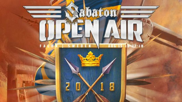 Sabaton Open Air 2018 under planering